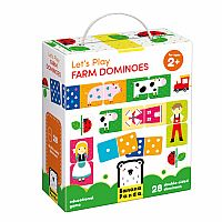 Let's Play Farm Dominoes