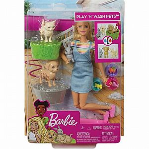 Play 'n' Wash Pets Barbie