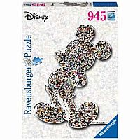 Mickey Mouse Shaped Puzzle