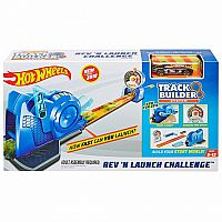 Hot Wheels® Track Builder™ Rev 'n Launch Challenge